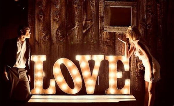 valentine love word decor (7)