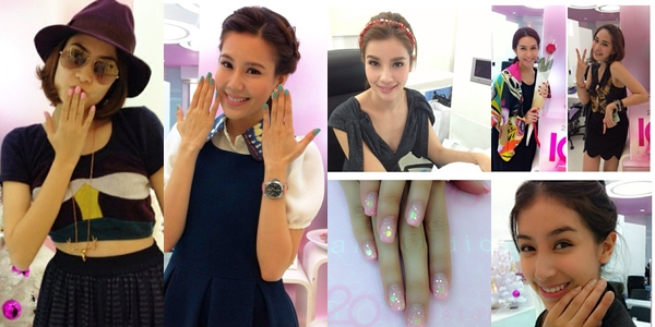 superstar with beautiful nail by 20nailstudio page
