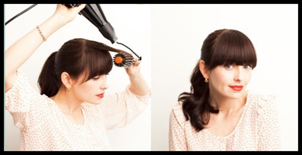Diy-Blow-Drying-Heavy-Bangs page