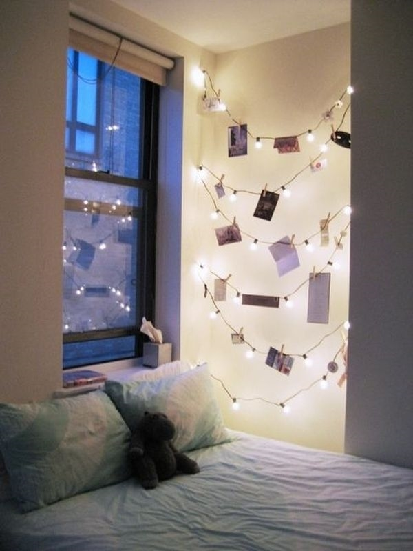bedroom with string light ideas (11)