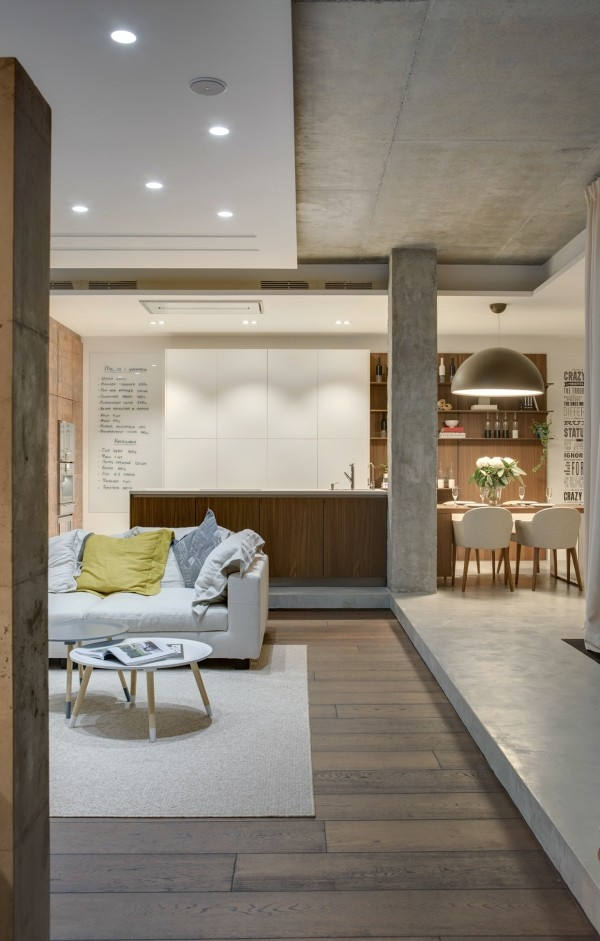 modern wood and concrete-apartment (21)