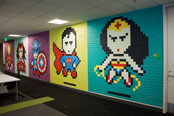 office-wall-post-it-superheroes (10)