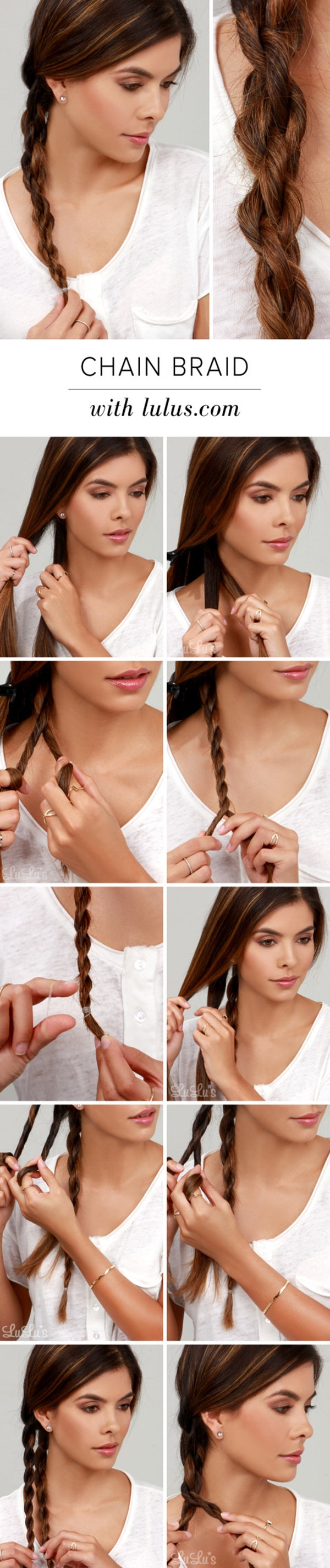 10 diy hairstyle in a minute (6)