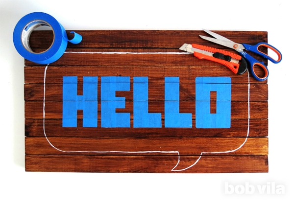 diy hello wooden doormat (7)