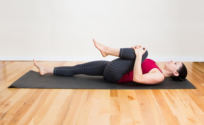Knee-Chest-Back-Stretch