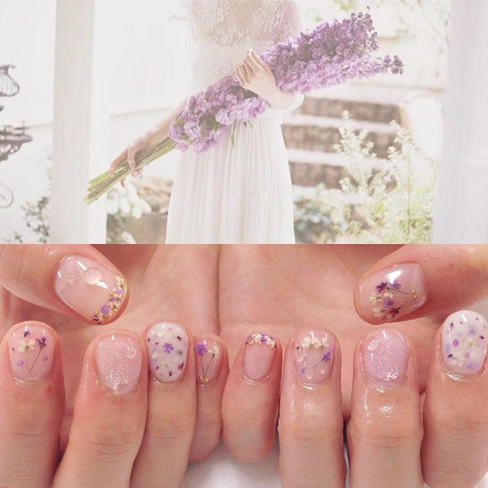 tiny flower kuuki nail (6)