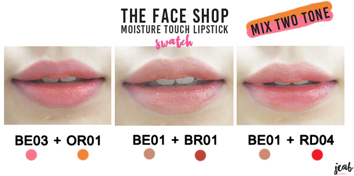 review the faceshop lipstick (2)