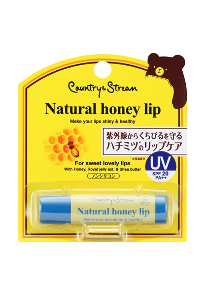 Natural Honey lip UV SPF20 PA++_package