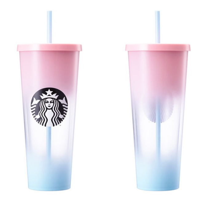 starbucks korea pink-blue v.206