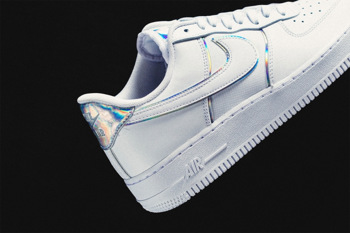 Nike's Latest Air Force 1 Shines with Iridescent Details04